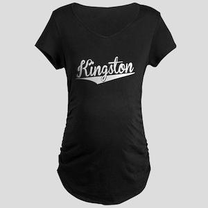 Kingston, Retro, Maternity T-Shirt