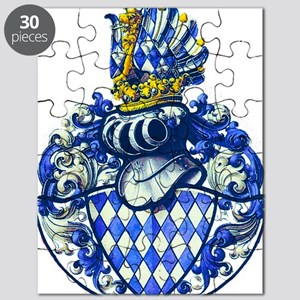 Medieval Bavarian Coat of Arms Crest Puzzle