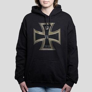 German Iron Cross 1914 Women's Hooded Sweatshirt