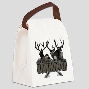 Bowhunter bucks Canvas Lunch Bag