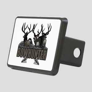 Bowhunter bucks Rectangular Hitch Cover