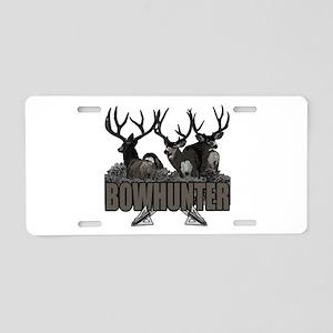 Bowhunter bucks Aluminum License Plate