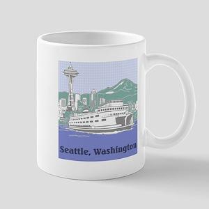 Seattle Washington Mugs