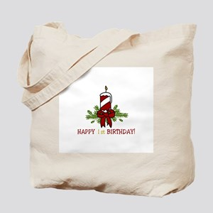 HAPPY 1 st BIRTHDAY Tote Bag