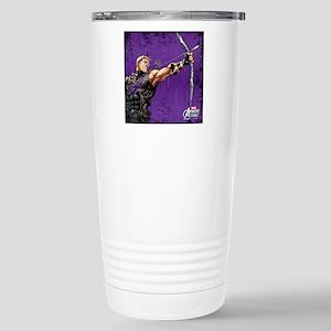 Hawkeye Ready Stainless Steel Travel Mug