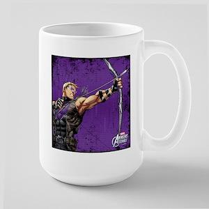 Hawkeye Ready Large Mug