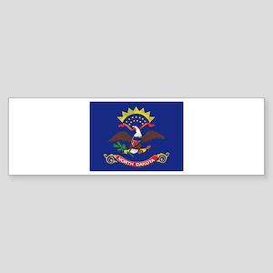 North Dakota Flag Sticker (Bumper)