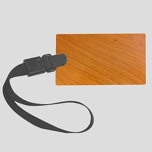 Wood Surface Large Luggage Tag
