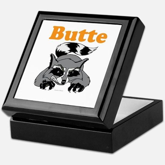 Butte, Alaska Keepsake Box