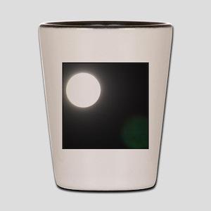 Moon at Night Shot Glass