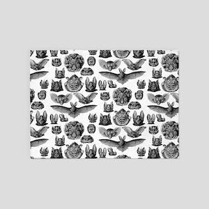 1904 Haeckel Chiroptera 5'x7'Area Rug