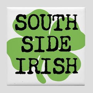 SOUTH SIDE IRISH Tile Coaster