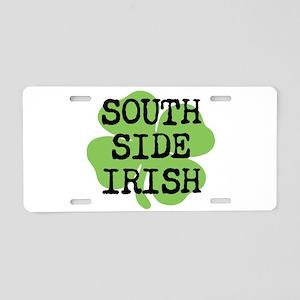 SOUTH SIDE IRISH Aluminum License Plate