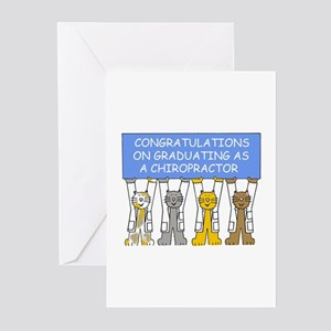 Chiropractor Graduation Congratulat Greeting Cards