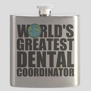 World's Greatest Dental Coordinator Flask