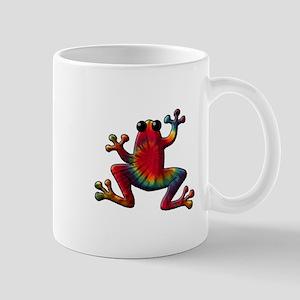 Tie Dye Frog Mug