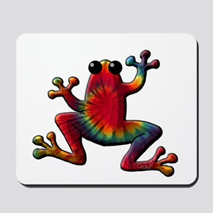 Tie Dye Frog Mousepad