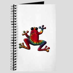 Tie Dye Frog Journal