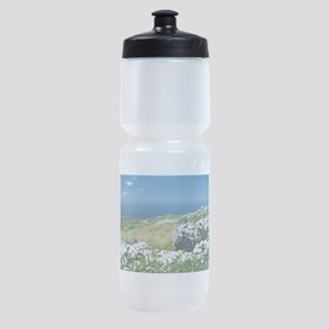 Hydrangeas everywhere Sports Bottle