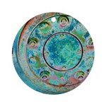 Solar Wheel Ornament (Round)
