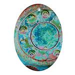 Solar Wheel Ornament (Oval)