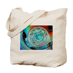 Solar Wheel Tote Bag