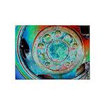 Solar Wheel 5'x7'Area Rug