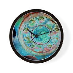 Solar Wheel Wall Clock
