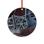 Solar Steampunk Ornament (Round)