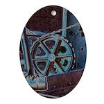 Solar Steampunk Ornament (Oval)