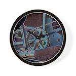 Solar Steampunk Wall Clock