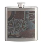 Solar Steampunk Flask