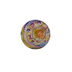 Rust Wheel Mini Button (100 pack)