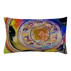 Rust Wheel Pillow Case