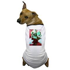 Red Green Machine Dog T-Shirt
