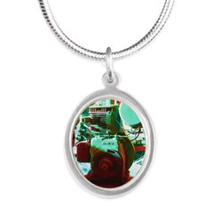 Red Green Machine Necklaces