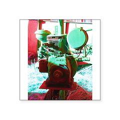 Red Green Machine Sticker