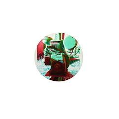 Red Green Machine Mini Button (10 pack)