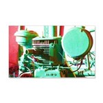 Red Green Machine Wall Decal
