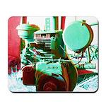 Red Green Machine Mousepad