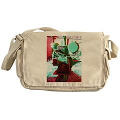 Red Green Machine Messenger Bag