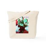 Red Green Machine Tote Bag