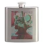 Red Green Machine Flask