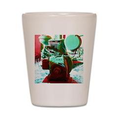 Red Green Machine Shot Glass
