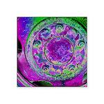 Purple Green Wheel Sticker