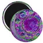 Purple Green Wheel Magnets