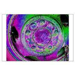 Purple Green Wheel Posters