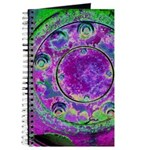 Purple Green Wheel Journal
