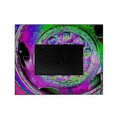 Purple Green Wheel Picture Frame