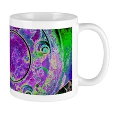 Purple Green Wheel Mugs
